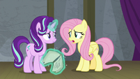 "Fluttershy ""I just hope Princess Celestia says"" S8E7"