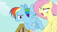 """Fluttershy shouting """"peeved"""" S6E11"""
