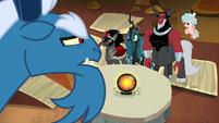 Grogar belittling the other villains S9E1