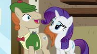 Mr. Breezy excited; Rarity satisfied S7E19