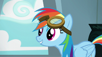 """Rainbow Dash """"I'd stand out more if I didn't"""" S6E7"""