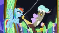 """Rainbow Dash """"she's got a point"""" S9E1"""