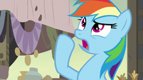 """Rainbow Dash """"the region would be cursed"""" S7E18"""