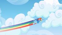 Rainbow Dash cloud compacting 1 S3E07