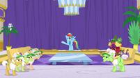 Rainbow Dash suggests grannies take a nap S8E5