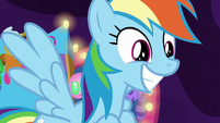 Rainbow excited by Granny's decision S8E5