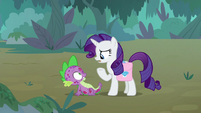 """Rarity """"what are you doing here?"""" S8E11"""