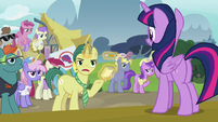 Reporter Pony -it doesn't seem believable- S7E14