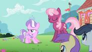 S02E06 Diamond Tiara z pogardą patrzy na Apple Bloom