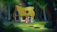S07E18 Pinkie i Rainbow docierają do domu A. K. Yearling