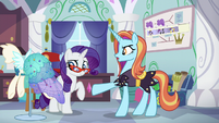 Sassy -supposed to be exactly the same!- S5E14