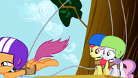 Scootaloo Jumps S1E23