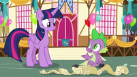 """Spike """"I have lots of reasons"""" S7E15"""
