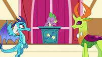 """Spike """"may the flame of friendship burn for eternity"""" S7E15"""