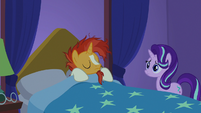 Sunburst going back to sleep S7E24