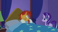 Sunburst going back to sleep S7E24