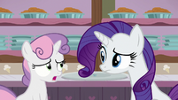 """Sweetie Belle """"still a little hungry, though"""" S7E6"""