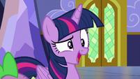 """Twilight Sparkle dismissive """"busy?"""" S7E3"""