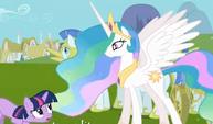 Twilight saying your majesty S3E10