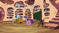 Twilight talks about reading and highlighting S4E21