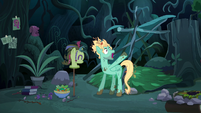 Zephyr Breeze in his new forest home S6E11