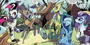 Comic issue 89 Zecora's friends thumb