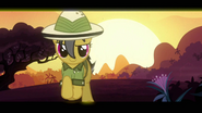 Daring Do trotting happily S2E16
