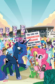 Friends Forever issue 7 cover RE BronyCon textless.jpg