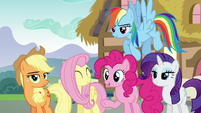 """Pinkie Pie """"he makes a good point"""" S5E22"""