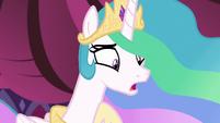 """Princess Celestia """"you think I don't get tired?"""" S7E10"""