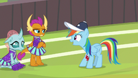 """Rainbow """"the game was just a sideshow"""" S9E15"""