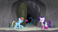 "Rainbow Dash ""high heels could do that?"" S8E17"