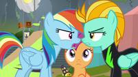 "Rainbow Dash ""making anypony feel bad"" S8E20"
