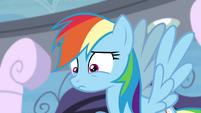 Rainbow afraid that she failed S4E21