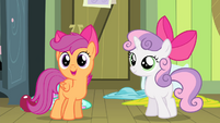 Scootaloo -Yeah, she's making your- S4E17