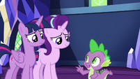 """Spike """"keep Ember and Thorax separate"""" S7E15"""