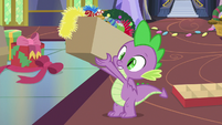 Spike holding box of decorations MLPBGE
