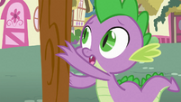 Spike reaching for the rope S3E9