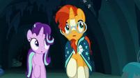 Starlight and Sunburst hear Maud's voice S7E24