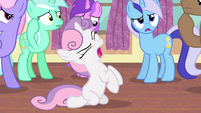 Sweetie frustrated S4E19