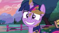 Twilight nervous grin S5E3