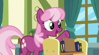 Cheerilee suggests Ponyville Fables and Stables S7E3
