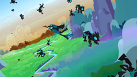 Chrysalis is defeated S2E26