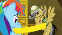 """Daring Do """"didn't count on how heavy this ring would be"""" S4E04"""