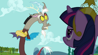 Discord mocks Twilight's -precious princess- S03E10