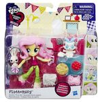 Equestria Girls Minis Fluttershy Sleepover set packaging