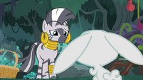 Fluttershy's bunny ears droop with despair S9E18