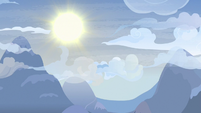 Morning sun shining bright over Yakyakistan S7E11