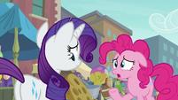 Pinkie Pie --it had double stitching-- S6E3