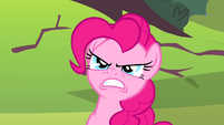 Pinkie Pie looking angry S4E12